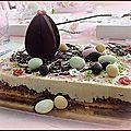 Des partenaires et une mini table chocolatée.........