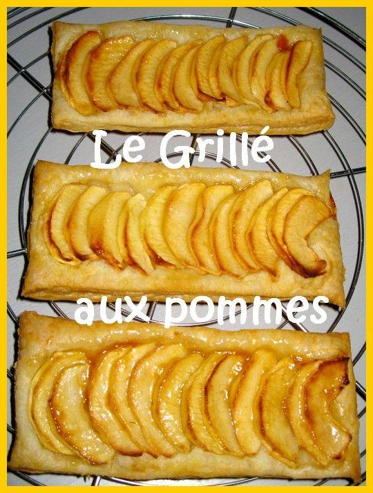 Populaire préféré Le grillé aux pommes - A la table de Bérangère #PM_77