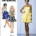 simplicity_robe corsage_7350