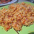 Purkouri ( boulgour à la tomate )