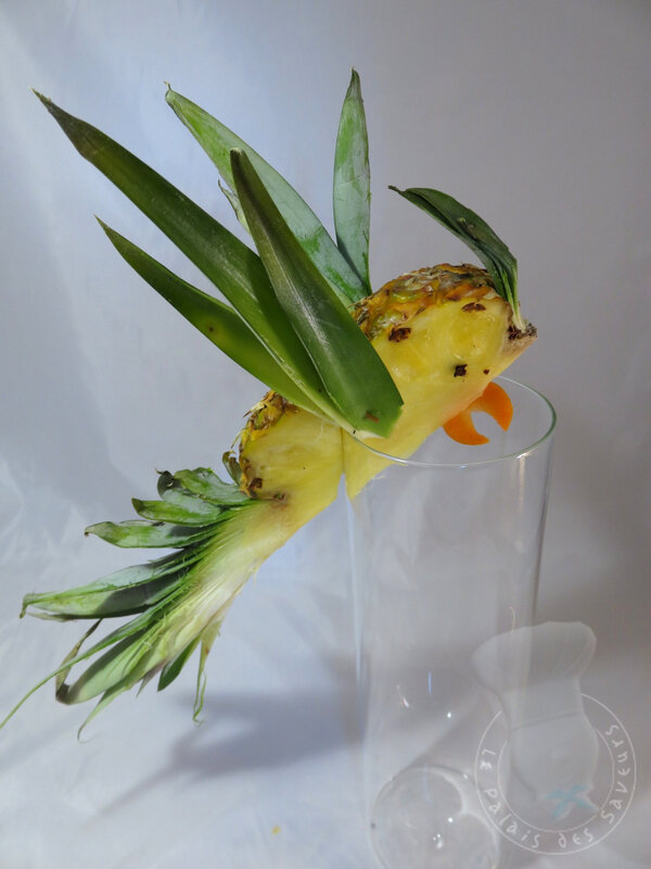 Perroquet ananas
