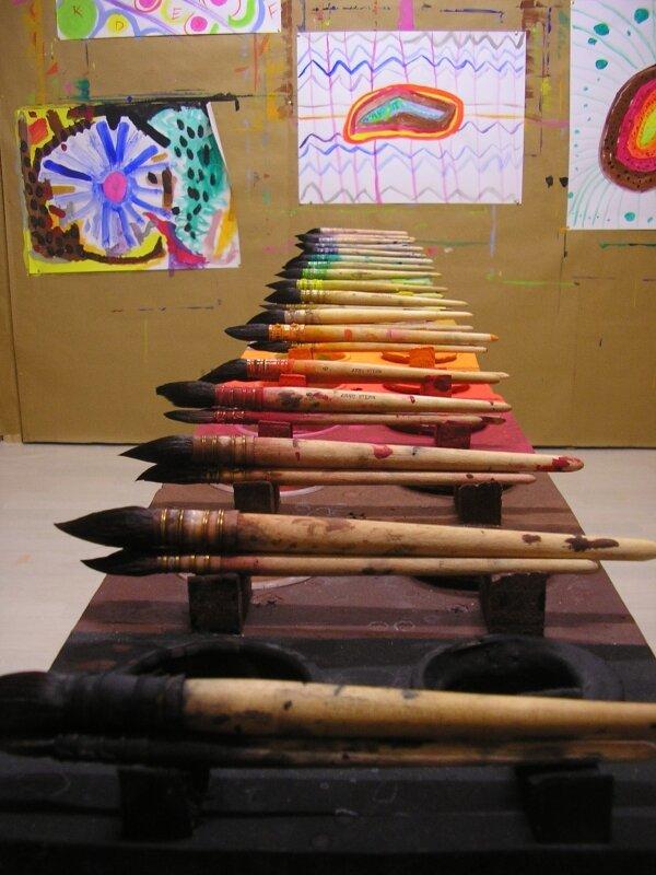 la table palette