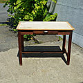 Table de ferme, bureau, console