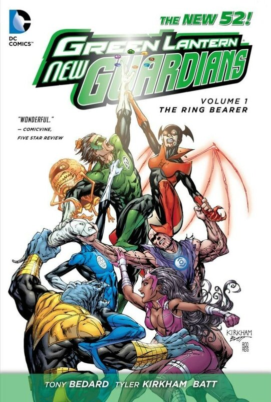 green lantern new guardians vol 1 the ring bearer TP