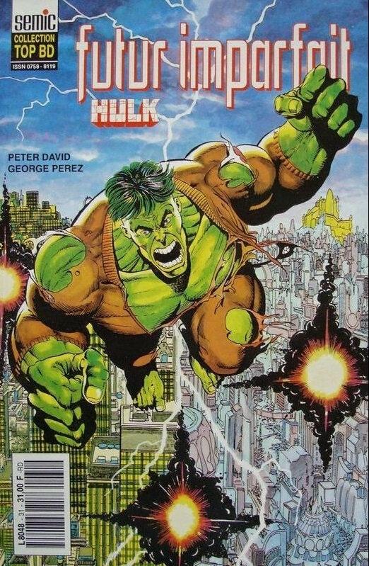 semic top bd 31 hulk futur imparfait