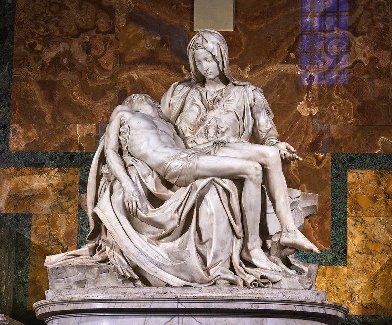 Michel Ange Pietà Basilique saint Pierre