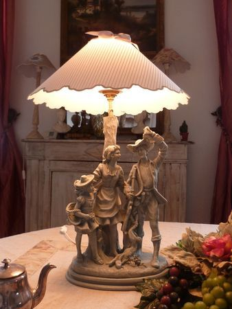 grande lampe biscuit personnages