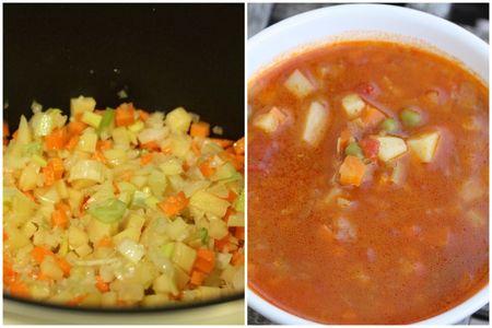 soupe de légumes chez requia delicook