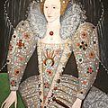 020 -Collection Portraits Britanniques - Elisabeth 1ère d'Angleterre