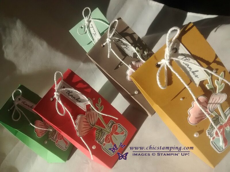 Gift bags with jar 5