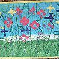 Champ de coquelicots Caroline -Impressions diverses - Peinture gouache