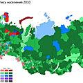Materials used to build houses in Russia, by district