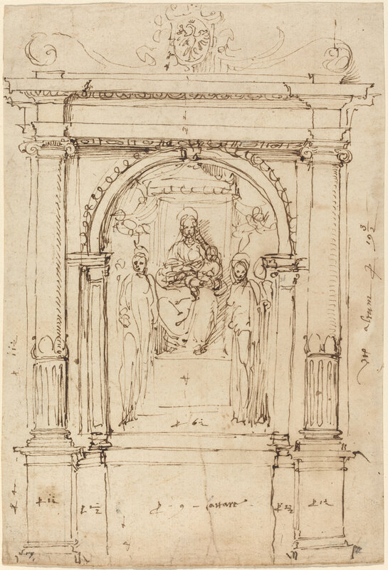 Altarpiece of the Madonna and Child