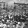 Russie 1917 : la révolution de février
