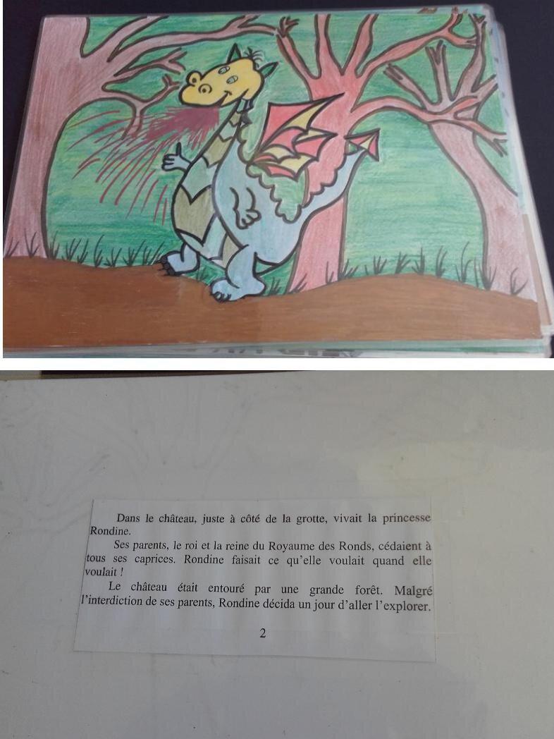 Le Dragon Leon Et La Princesse Rondine Ateliers Kamishibai