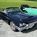 Ford thunderbird convertible-1964