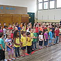 38-Première chorale à l'école