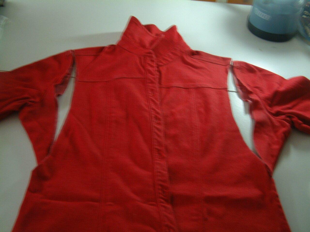 TUTO de ma petite robe rouge !!