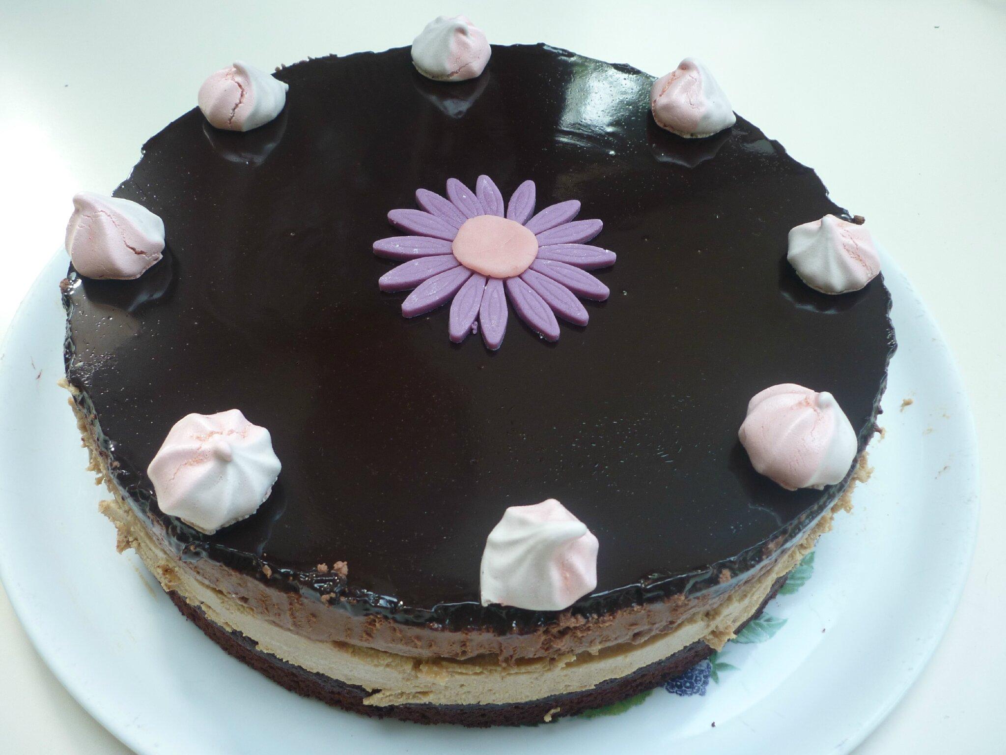 Entremets chocolat spéculoos et son brownie aux noix caramélisées