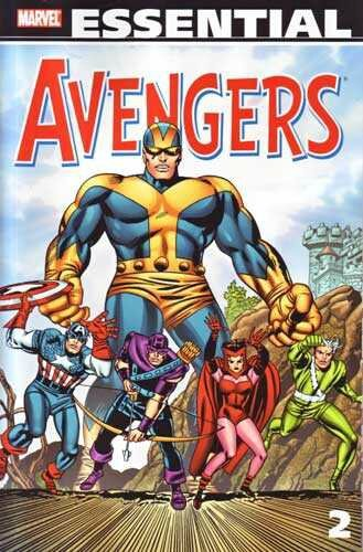 essential avengers vol 2 TP 2nd print