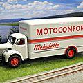 Berliet glr motoconfort. ixo. 1/43. le garage moderne