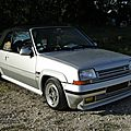 Renault 5 gt turbo ebs cabriolet phase 2-1991