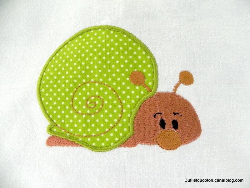 gros plan escargot
