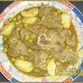 Tajine de veau pomme de terres olives et citron confit