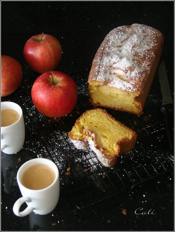 Cake au Mascarpone & à la Pomme 001
