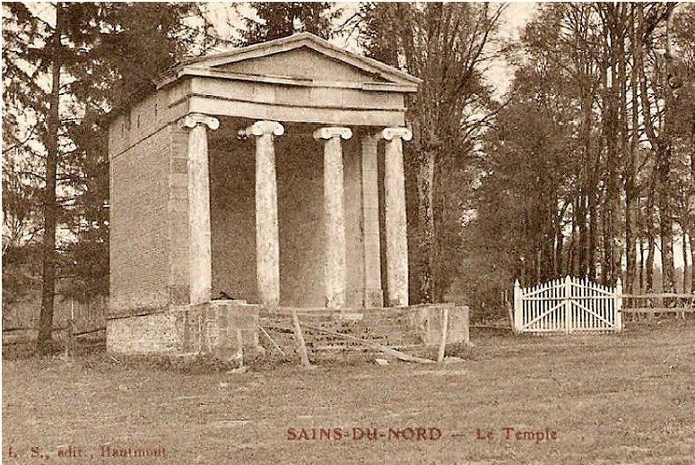 SAINS DU NORD-Le Temple