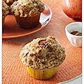 Muffin pomme et streusel
