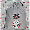 sac affaire de ski