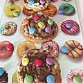 Cookies double choc au smarties