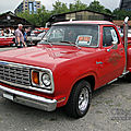 Dodge adventurer 150 li'l red express-1978