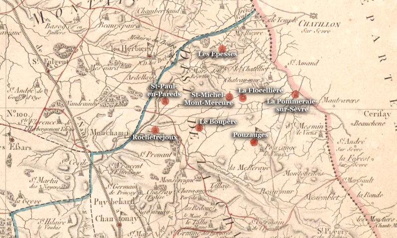 20-21 août 1799, coup de force à la foire de Saint-Michel