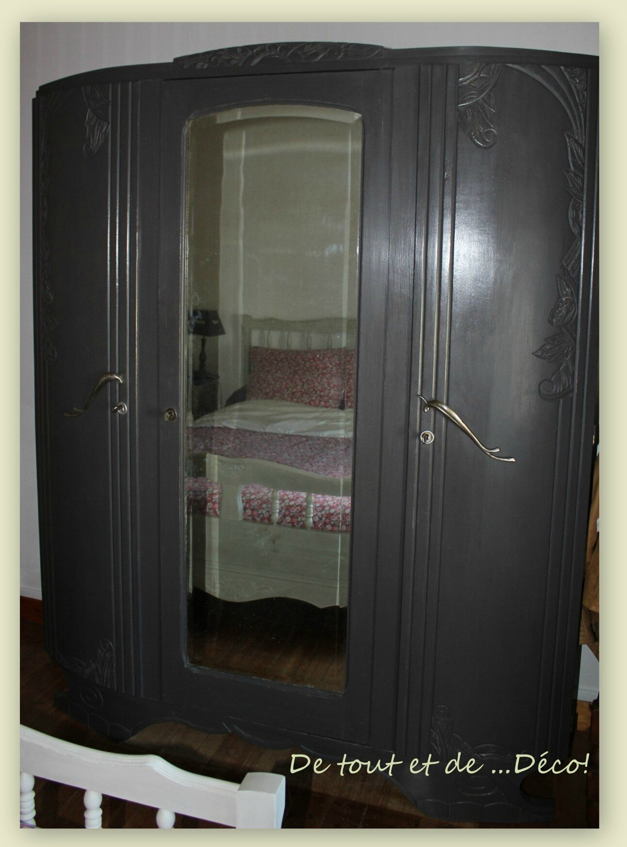 l 39 armoire de ma grand m re avant apr s de tout et de d co. Black Bedroom Furniture Sets. Home Design Ideas