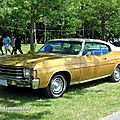Chevrolet chevelle malibu hardtop coupe de 1972 (retro meus auto madine 2012)