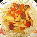 Spaghetti printaniers