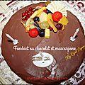 Fondant au chocolat et mascarpone de cyril lignac ( au thermomix)