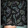 Robe customisée zoom tissu