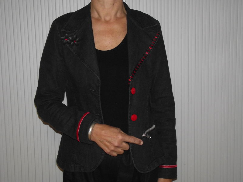 Customiser une veste classique