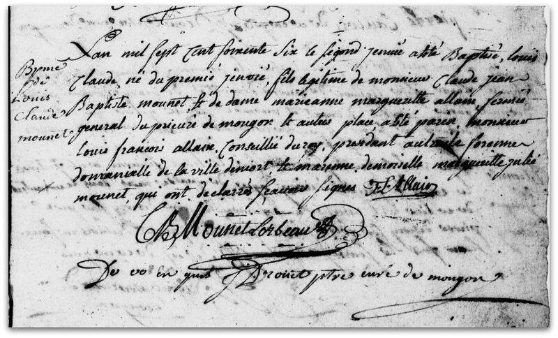 baptême 1766 z