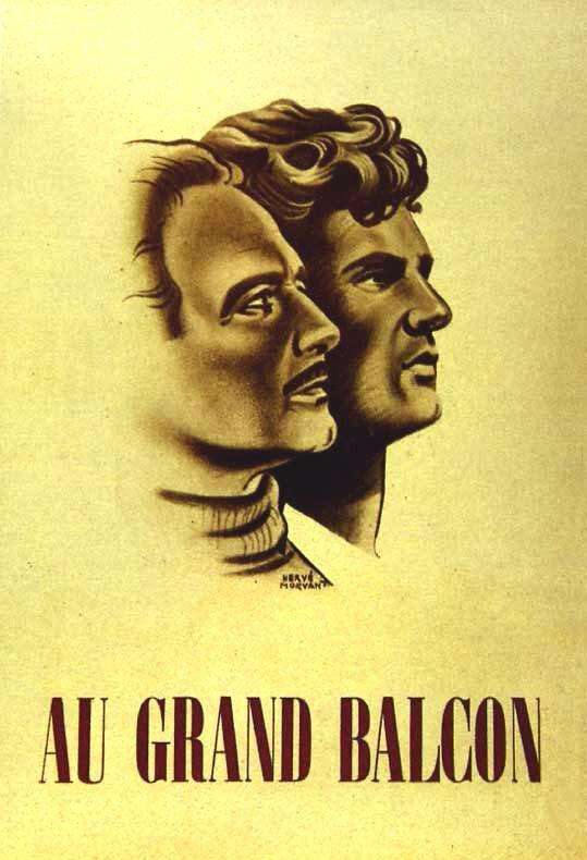 Georges Marchal, à l'affiche du film d'Henri Decoi