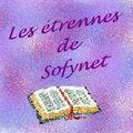 Les étrennes de sofynet... recap des inscriptions semaine 3 ...