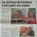Sud-ouest jonzac lundi 30 mai 2016, château de favières delannoy vices et râlements