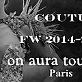 On aura tout vu couture video defile h2o by yassen samouilov & livia stoianova fw2014-2015
