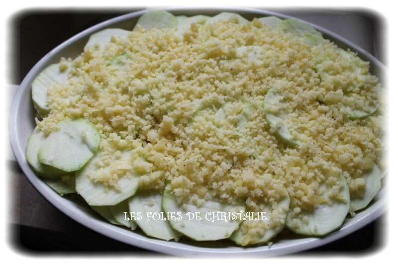 Gratin courgettes 5