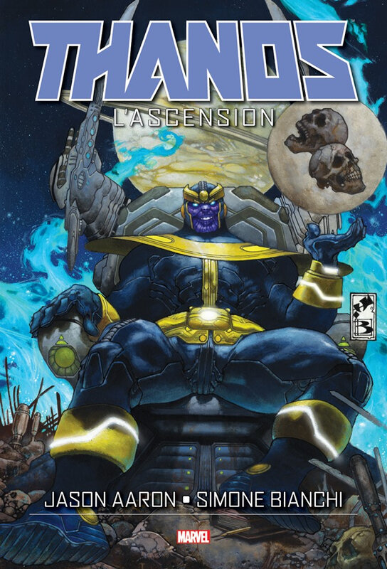 graphic novel thanos l'ascension