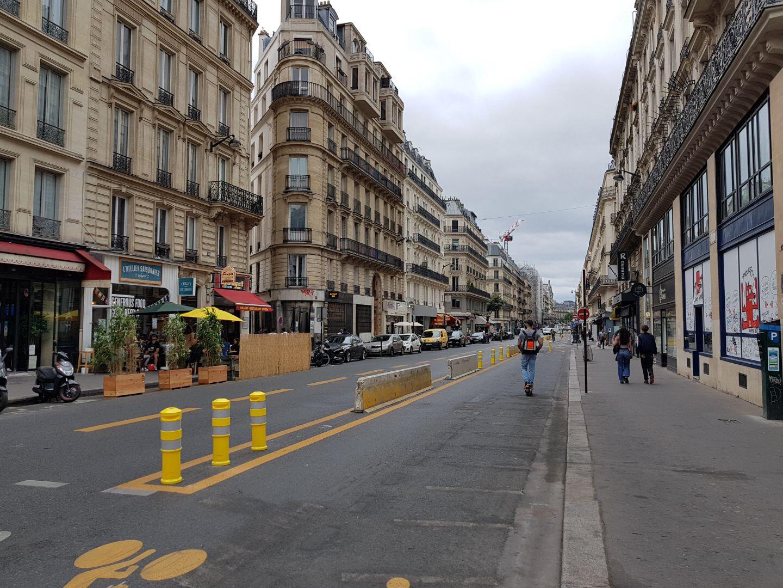 Des Pistes Cyclables En Plus Mais Sans Negliger Les Autobus Transportparis Le Webmagazine Des Transports Parisiens