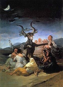Bouc par Francisco Goya